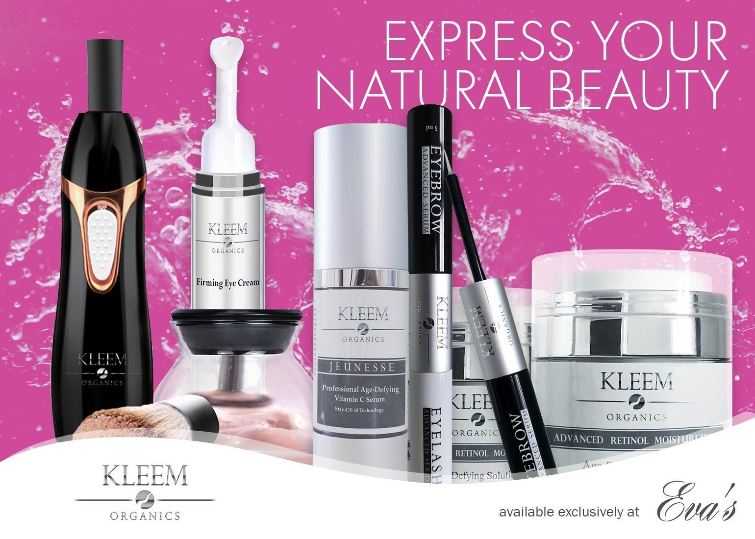 Kleem Organics Now Available Exclusively at Eva's Nail Care