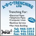 A B C Trenching Ltd