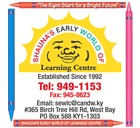 Shauna's Early World Of Learning Centre